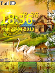 Paradise Peace tema screenshot
