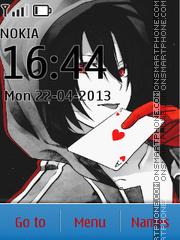 Amnesia Shin tema screenshot
