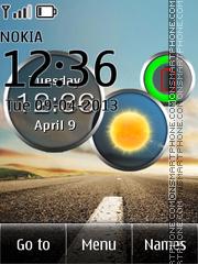 Скриншот темы Live Road