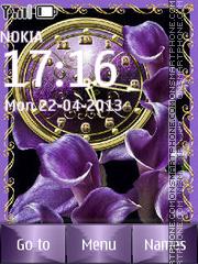 Violet theme screenshot