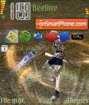 Line Age Shoot theme screenshot