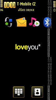 Love You by Zoya es el tema de pantalla