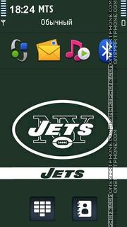 New York Jets theme screenshot