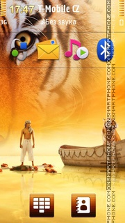 Life Of Pi Movie theme screenshot