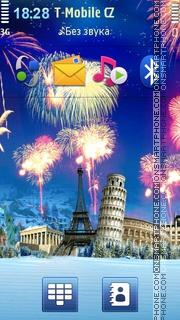 Скриншот темы World Fireworks
