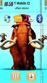 Ice Age - Manny theme screenshot