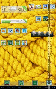 Rope tema screenshot