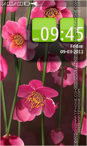 Скриншот темы Spring Flowers 10