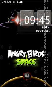 Angry Bird Space es el tema de pantalla