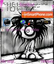 Capture d'écran Navas Art Emo thème