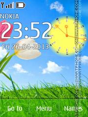 Spring Nature theme screenshot