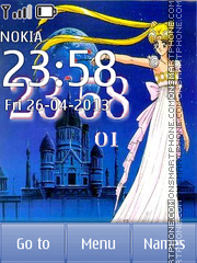 Sailor Moon, Princess Serenity tema screenshot