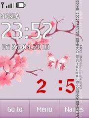 Sprig Sakura Theme-Screenshot