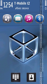 MetalBox tema screenshot