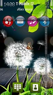 Last Dandelions theme screenshot