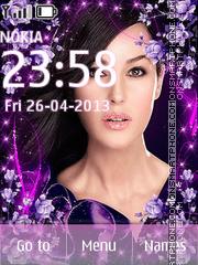Monica Belucci theme screenshot