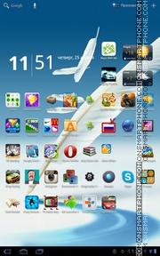 Galaxy Note 2 Live Wall theme screenshot