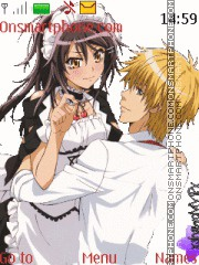 Kaichou wa Maid-sama tema screenshot