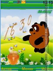 Скриншот темы Winnie Pooh