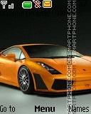 Lamborghini Gallardo theme screenshot