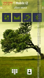 Tree HD theme screenshot