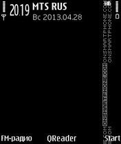 Black-Final theme screenshot