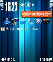 Скриншот темы Ice Blue