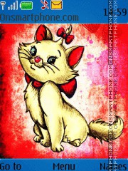 Marie Disney Cat theme screenshot