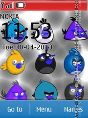 Bright Angry Bird theme screenshot