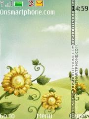 Summer Flowers 01 es el tema de pantalla
