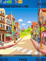 Drawn Street theme screenshot