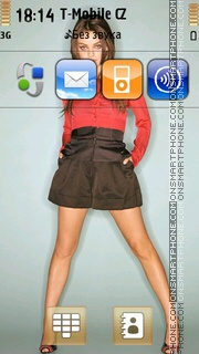 Mila Kunis 02 theme screenshot