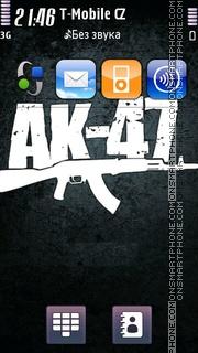 AK47 Music Band es el tema de pantalla