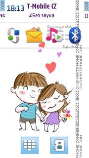 Love Is 04 theme screenshot