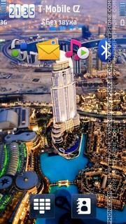 Скриншот темы Dubai 03