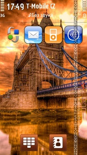 Скриншот темы London Bridge - Tower Bridge
