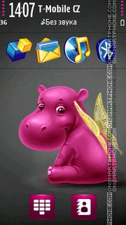Hippo Angel theme screenshot