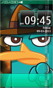 Perry tema screenshot
