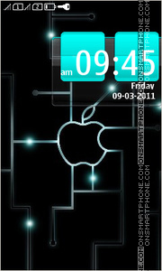 Apple Circuit theme screenshot
