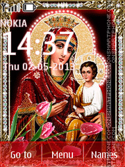 Easter (Orthodox Icon) theme screenshot