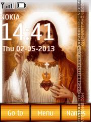 Jesus Christ theme screenshot