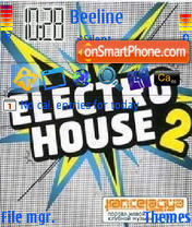 Electrohouse tema screenshot