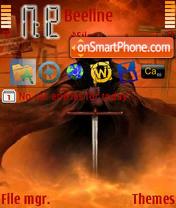 Navas Art Fantas 01 es el tema de pantalla