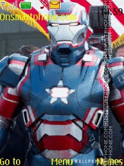 Iron Man Patriot theme screenshot