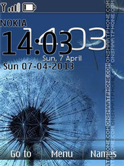 Mindglass Galaxy S3 theme screenshot