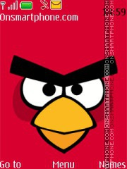 Angry Bird 11 theme screenshot