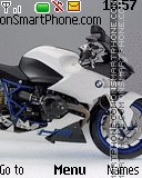 Bmw sport bike theme screenshot