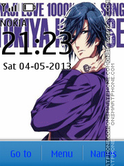 Uta no Prince-sama theme screenshot