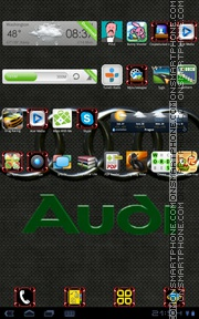 Audi 33 theme screenshot