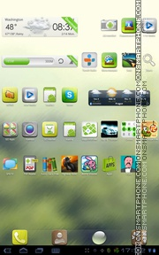 Droplet tema screenshot